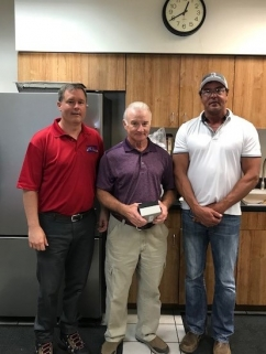 Machinist Jerry Hite Retires with 44 years of Railroad Service